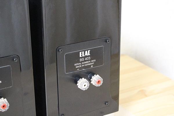 ★展示機!ELAC スピーカー BS403 ペア ブラック★_画像6