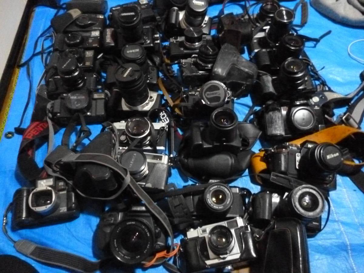 フイルムカメラ まとめて 大量 NikonCANONミノルタfuji PENTAXTAMRON OLYMPUS Konica