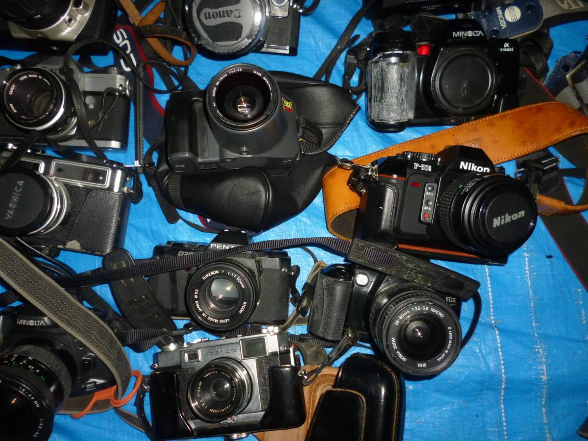 フイルムカメラ まとめて 大量 NikonCANONミノルタfuji PENTAXTAMRON OLYMPUS Konica_画像2
