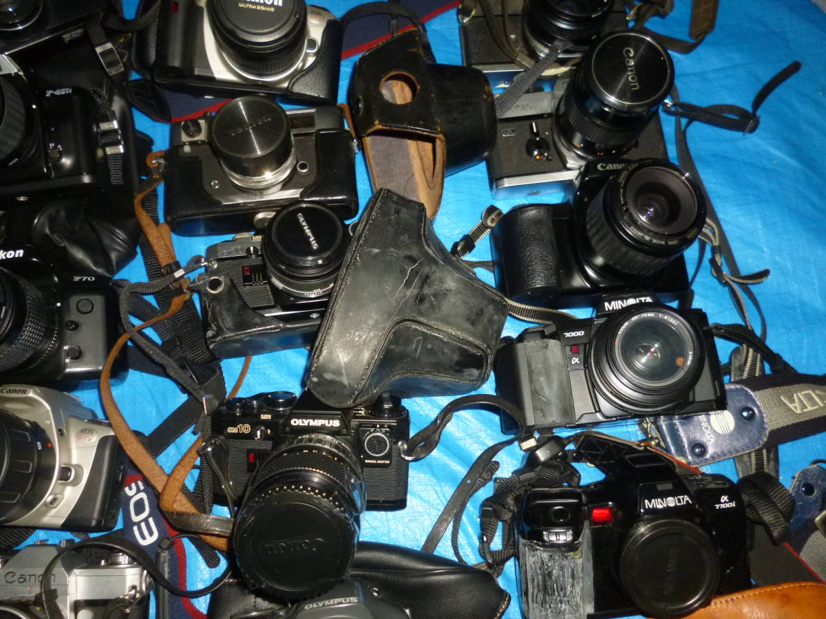 フイルムカメラ まとめて 大量 NikonCANONミノルタfuji PENTAXTAMRON OLYMPUS Konica_画像3
