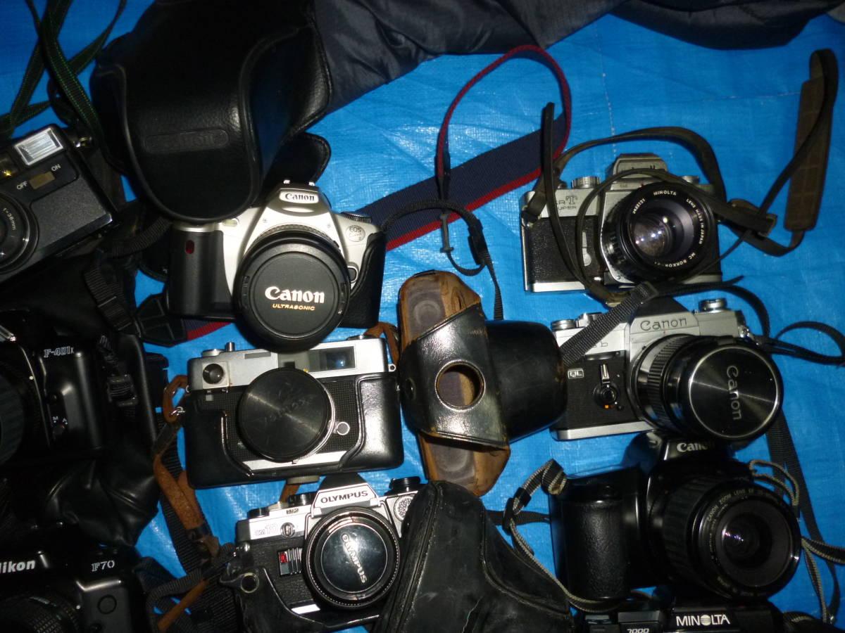 フイルムカメラ まとめて 大量 NikonCANONミノルタfuji PENTAXTAMRON OLYMPUS Konica_画像4