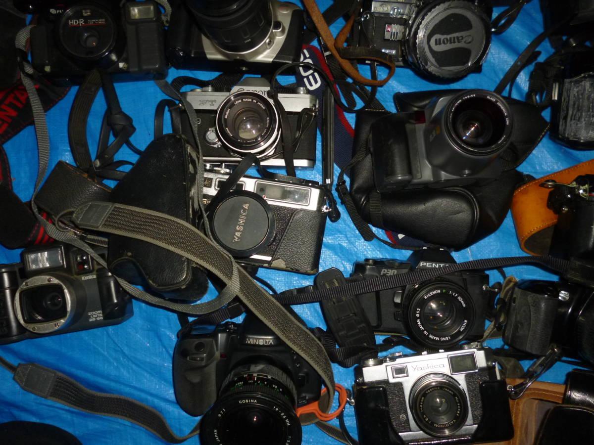 フイルムカメラ まとめて 大量 NikonCANONミノルタfuji PENTAXTAMRON OLYMPUS Konica_画像5