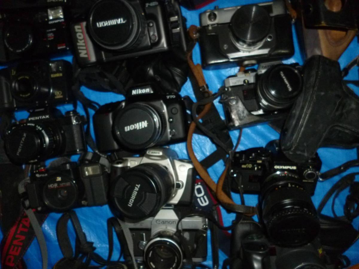 フイルムカメラ まとめて 大量 NikonCANONミノルタfuji PENTAXTAMRON OLYMPUS Konica_画像6