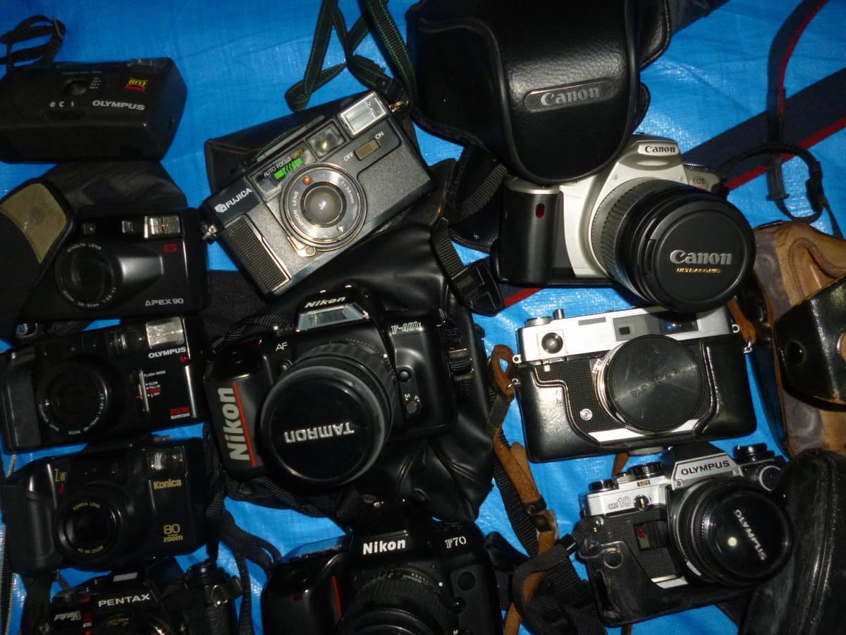 フイルムカメラ まとめて 大量 NikonCANONミノルタfuji PENTAXTAMRON OLYMPUS Konica_画像7