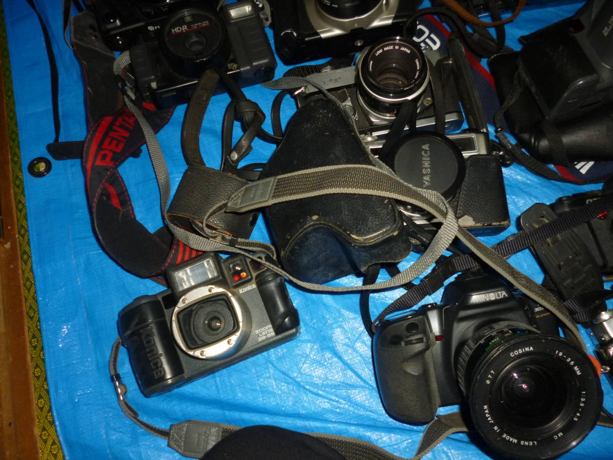 フイルムカメラ まとめて 大量 NikonCANONミノルタfuji PENTAXTAMRON OLYMPUS Konica_画像8