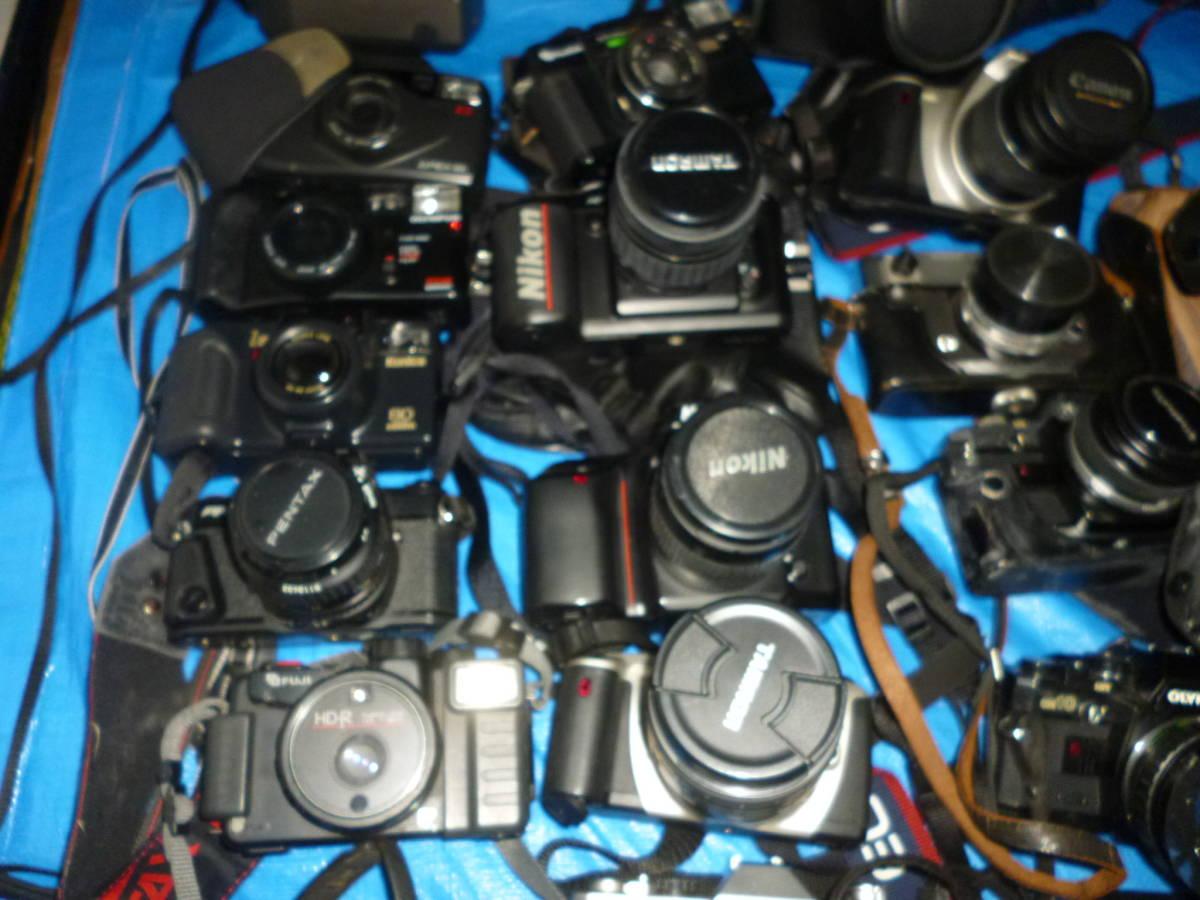 フイルムカメラ まとめて 大量 NikonCANONミノルタfuji PENTAXTAMRON OLYMPUS Konica_画像9