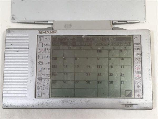 ■シャープ ザウルス ポケット MI-106 モバイルビジネスツール SHARP Mobile Business Tool Zaurus Pocket 簡易動作確認[CJ]_画像2