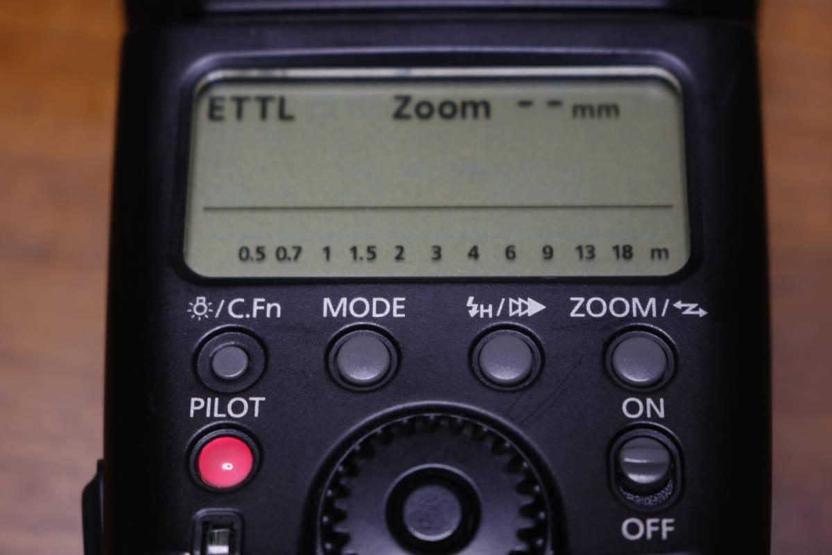 Canon スピードライト 580EX 動作品 その1 検:580EXII 600EX Godox ストロボ フラッシュ _画像2