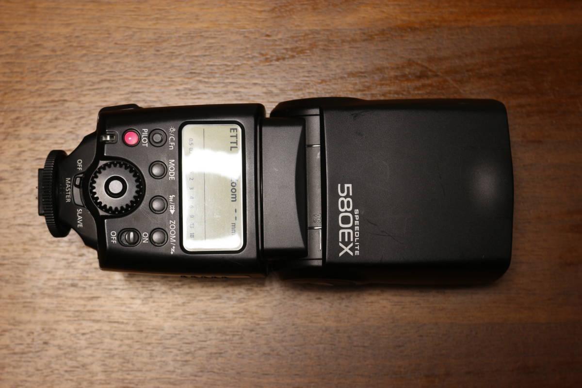 Canon スピードライト 580EX 動作品 その1 検:580EXII 600EX Godox ストロボ フラッシュ