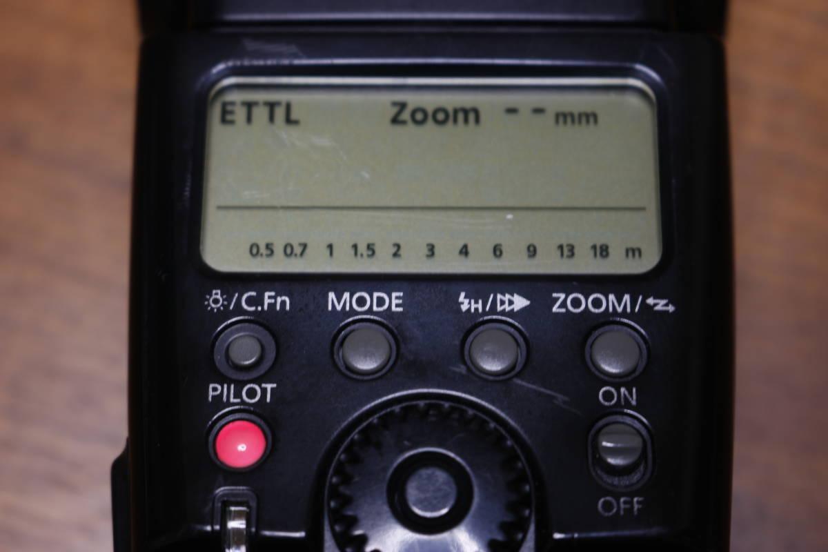 Canon スピードライト 580EX 動作品 その2 検:580EXII 600EX Godox ストロボ フラッシュ_画像2