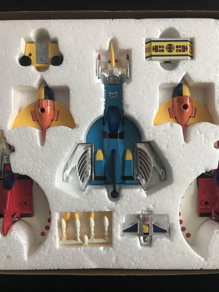 タカラ 超人戦隊バラタック コントロール船 ペンタゴラス  マグネモ、合金、ポピー、ソフビ、マシンダー_画像6