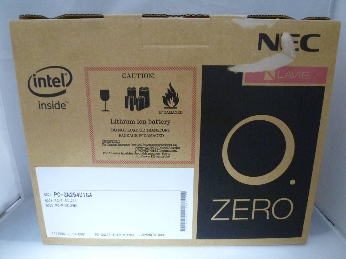 1円~♪〔USED品〕NEC LAVIE ZERO PC-GN254U1GA ブラック COREi5 Windows10Pro 13.3インチ 動作確認済_画像10