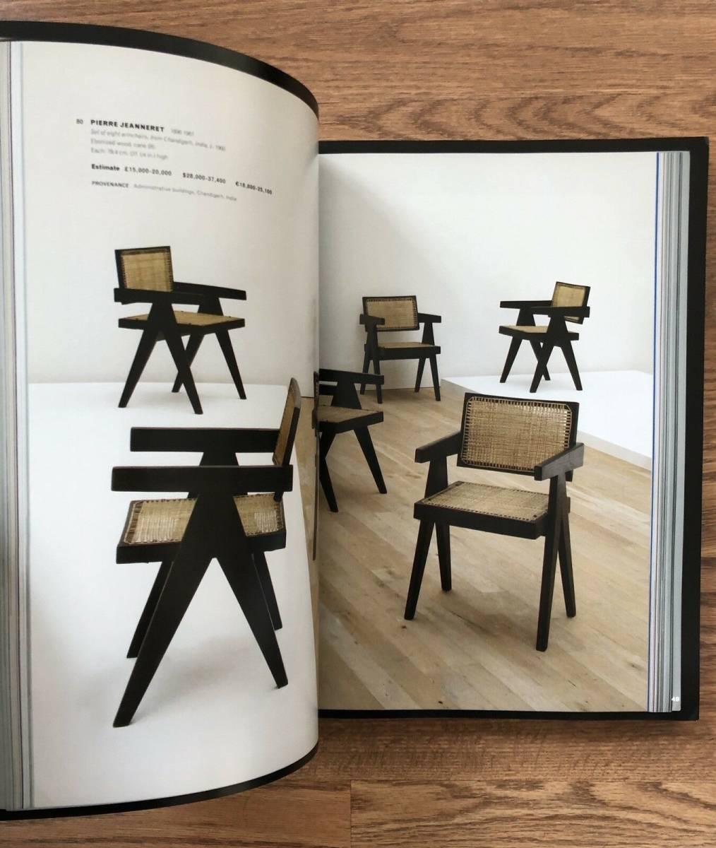 スーパーレア Pierre Jeanneret 'CATALOGUE' 書籍 ペリアン プルーヴェ コルビジェ cassina 柳宗理 イームズ ジャンヌレ_画像4