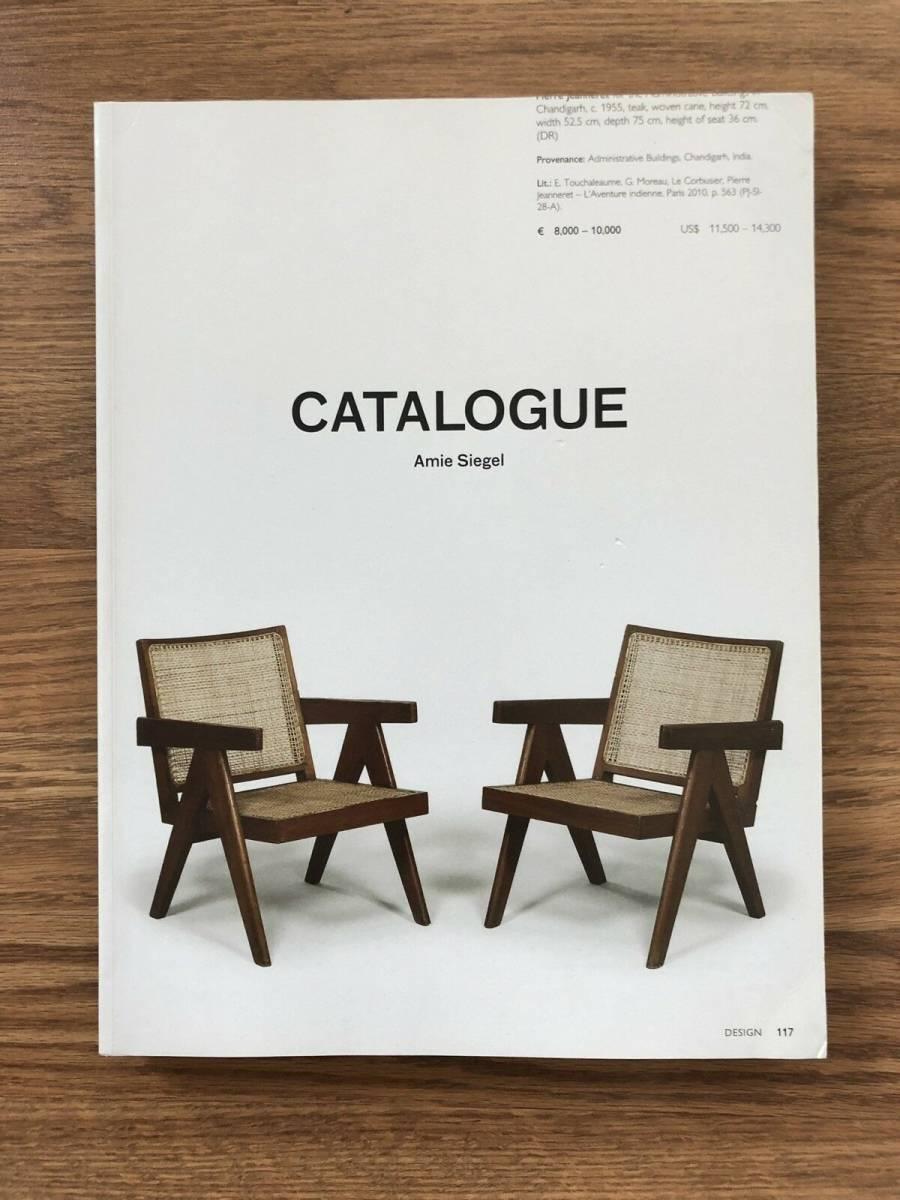スーパーレア Pierre Jeanneret 'CATALOGUE' 書籍 ペリアン プルーヴェ コルビジェ cassina 柳宗理 イームズ ジャンヌレ
