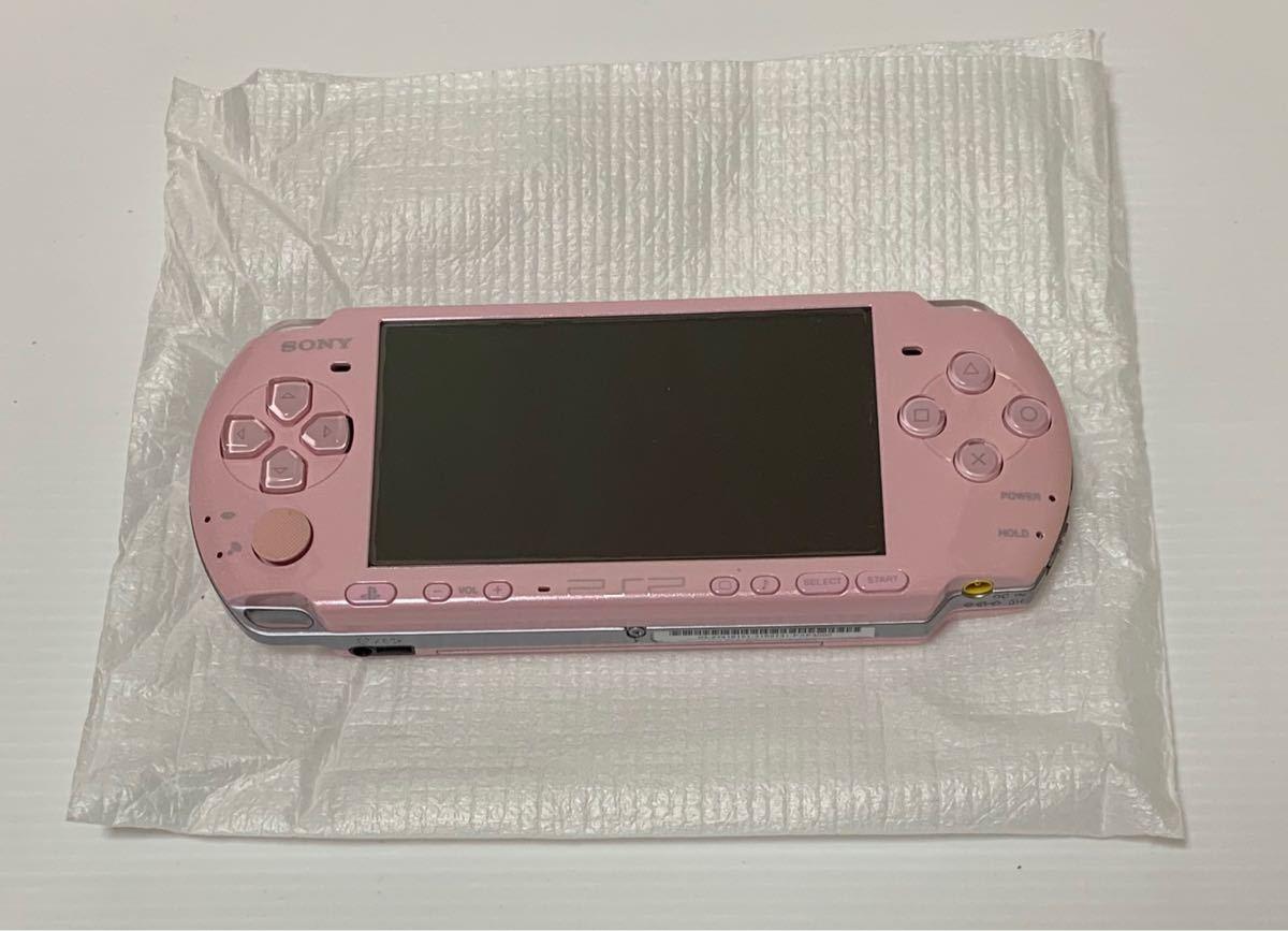 美品 PSP-3000 ブロッサムピンク 付属品 完品 動作確認済み 動作良好品 ソニー 1円スタート_画像2