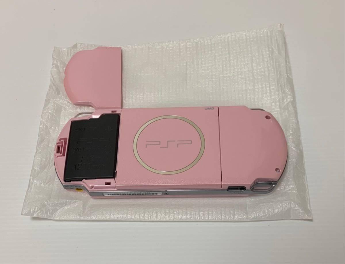 美品 PSP-3000 ブロッサムピンク 付属品 完品 動作確認済み 動作良好品 ソニー 1円スタート_画像3
