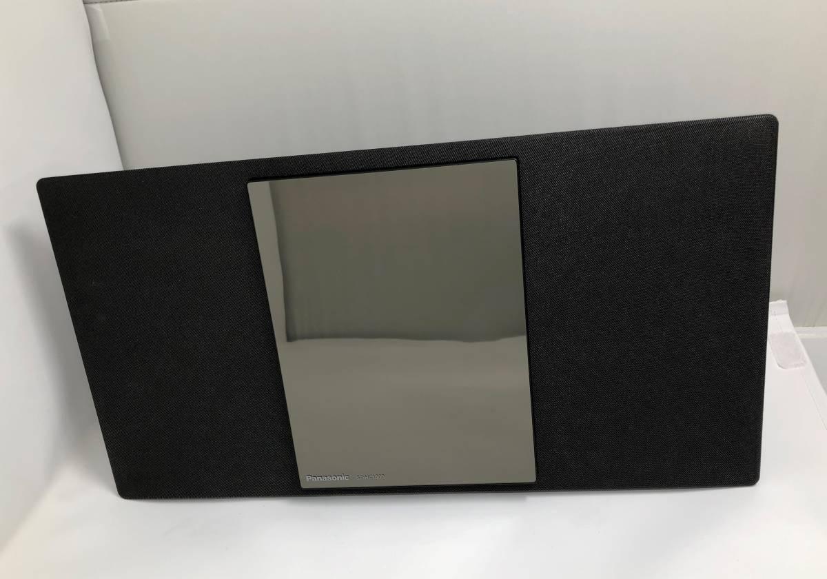 展示品 保証付き Panasonic コンパクトステレオシステム SC-HC1000 -K ブラック _画像3