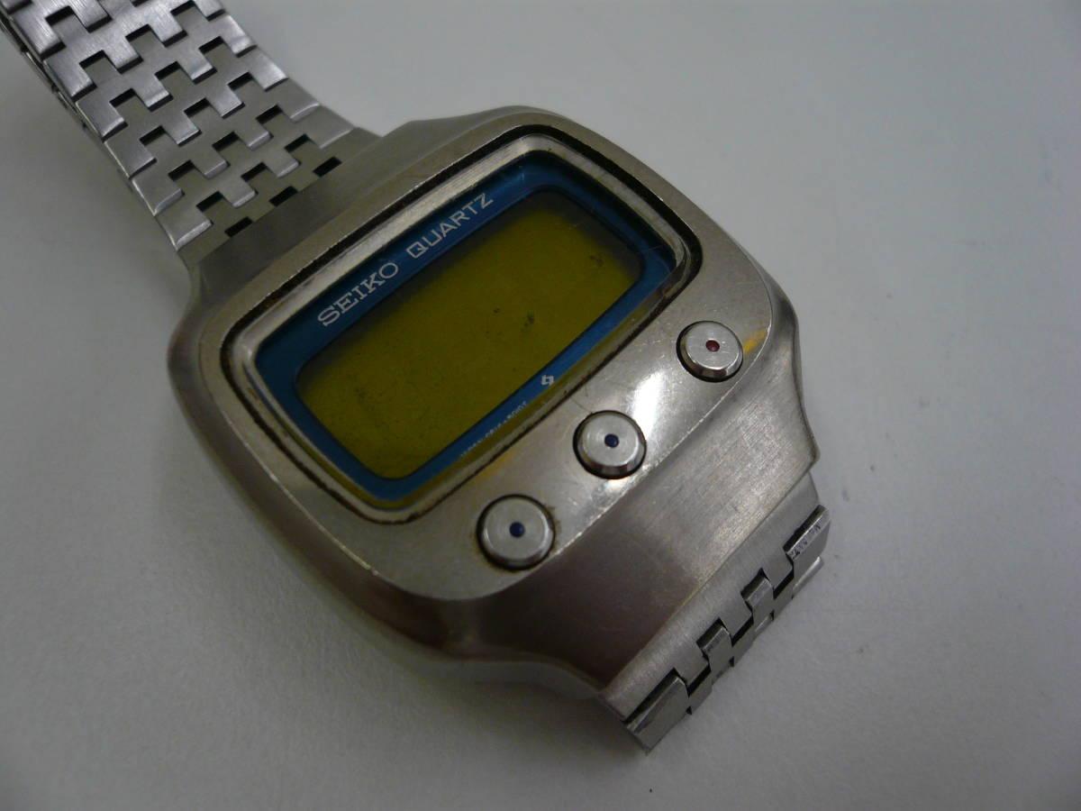 レア SEIKO 0614-5000 初期型 デジタル チタン セイコー 希少 腕時計 ジャンク品扱い 激安 爆安 1円スタート_画像2
