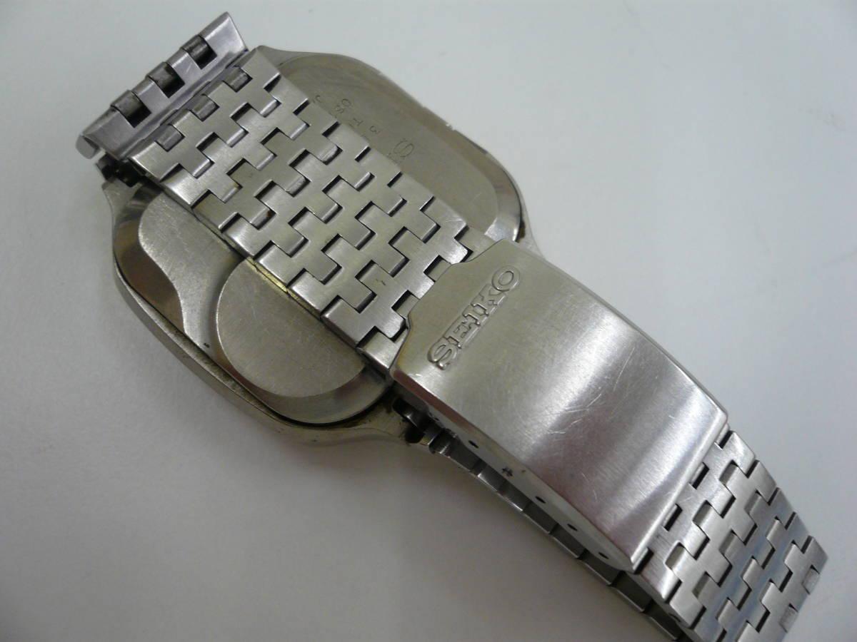 レア SEIKO 0614-5000 初期型 デジタル チタン セイコー 希少 腕時計 ジャンク品扱い 激安 爆安 1円スタート_画像5