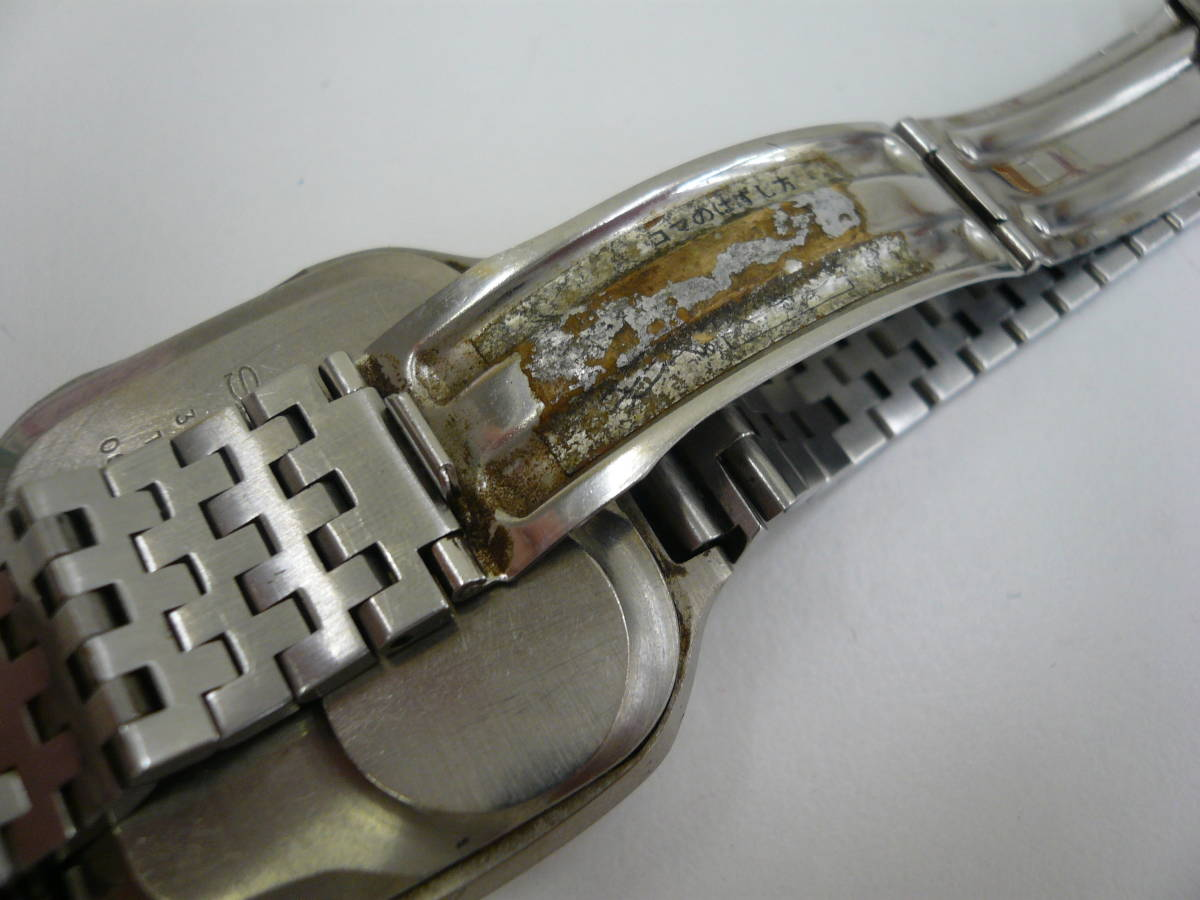 レア SEIKO 0614-5000 初期型 デジタル チタン セイコー 希少 腕時計 ジャンク品扱い 激安 爆安 1円スタート_画像7