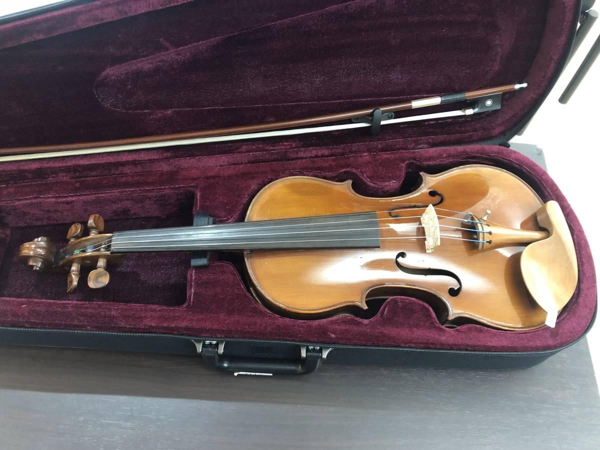 バイオリン Napori 4/4  完全整備済み 新品弓&ケースが付属!オークション限定特別価格にて!_画像3