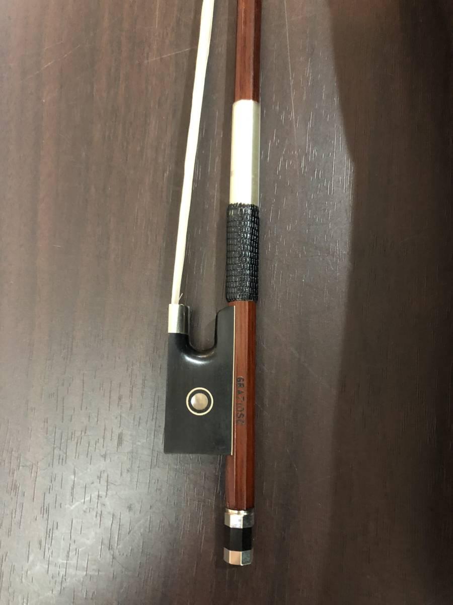 バイオリン Napori 4/4  完全整備済み 新品弓&ケースが付属!オークション限定特別価格にて!_画像8