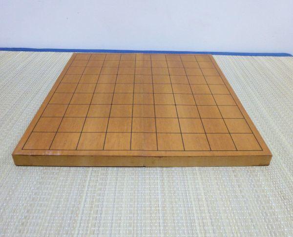 卓上盤 将棋盤 7号本寸 桂生地 折り畳み 卓上 ポータブル #510-10A3_画像3