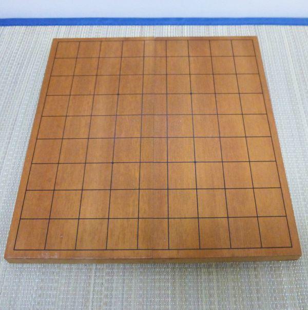 卓上盤 将棋盤 7号本寸 桂生地 折り畳み 卓上 ポータブル #510-10A3_画像2