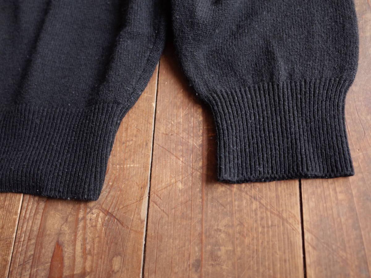 レア【超美品】Polo Ralph Lauren 90's CHAPS 日本製 長袖 ポロシャツ 薄手 ニット生地 シンプル ビンテージ 日登美 ★_画像5