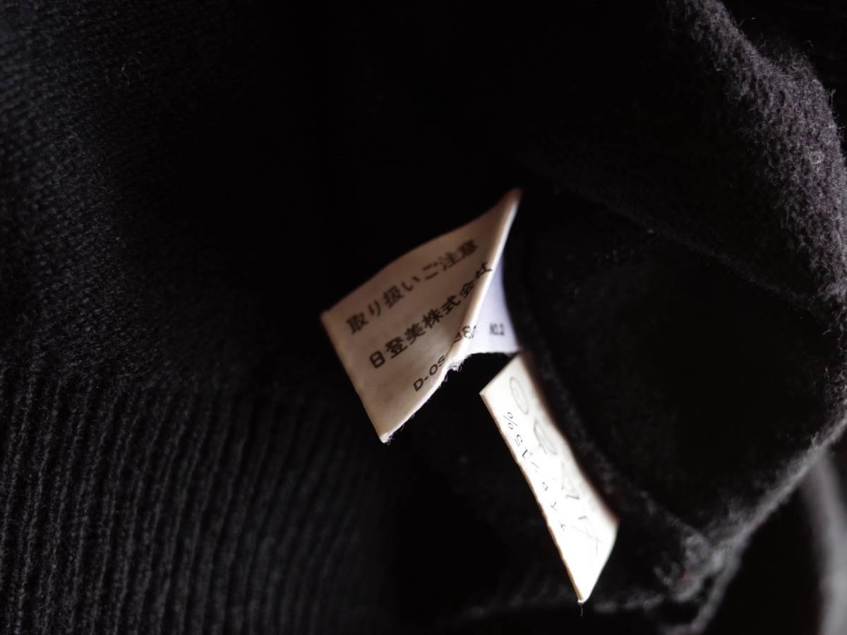 レア【超美品】Polo Ralph Lauren 90's CHAPS 日本製 長袖 ポロシャツ 薄手 ニット生地 シンプル ビンテージ 日登美 ★_画像7