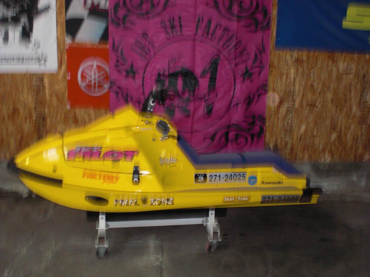 「☆kawasaki 旧X-2  650モデル改造艇 ⑥☆」の画像2