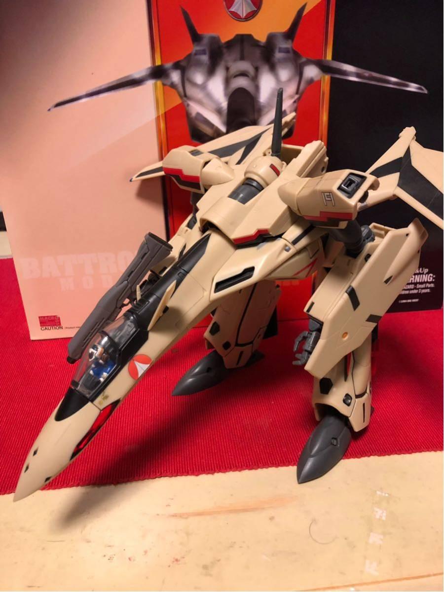 【送料無料】マクロスプラス 完全変形 YF-19 1/60scale YAMATO(中古)_画像2