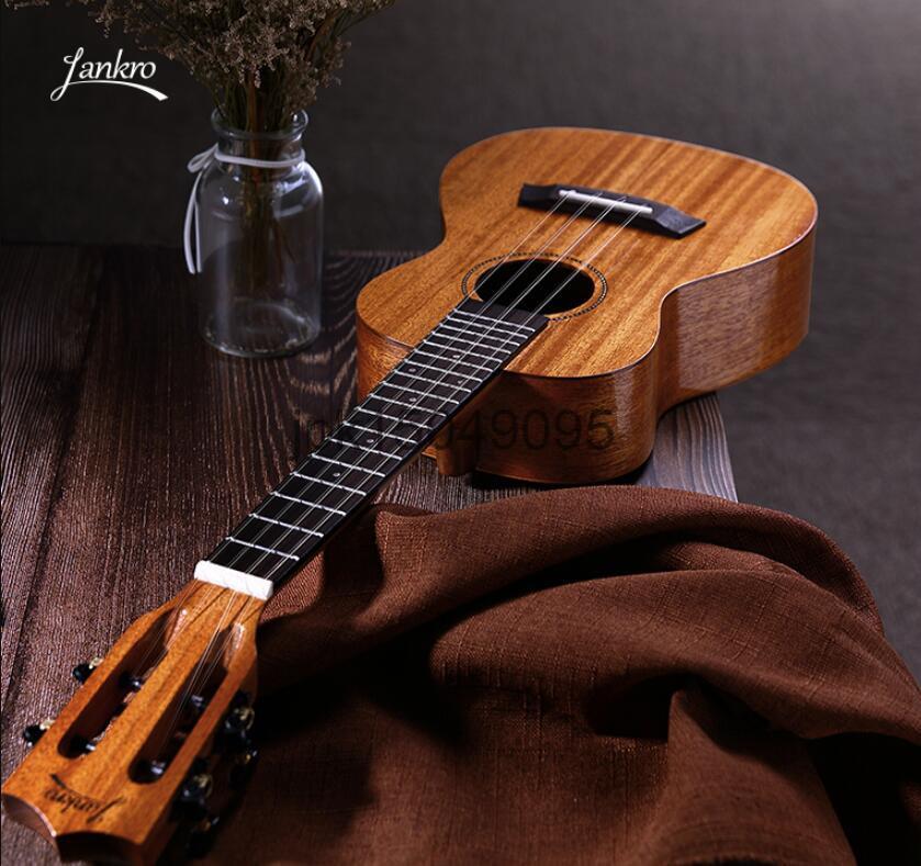 【新品】ハワイアンコア ウクレレ コンサート 楽器 器材 ギター 23インチ ケース 単板 マホガニー