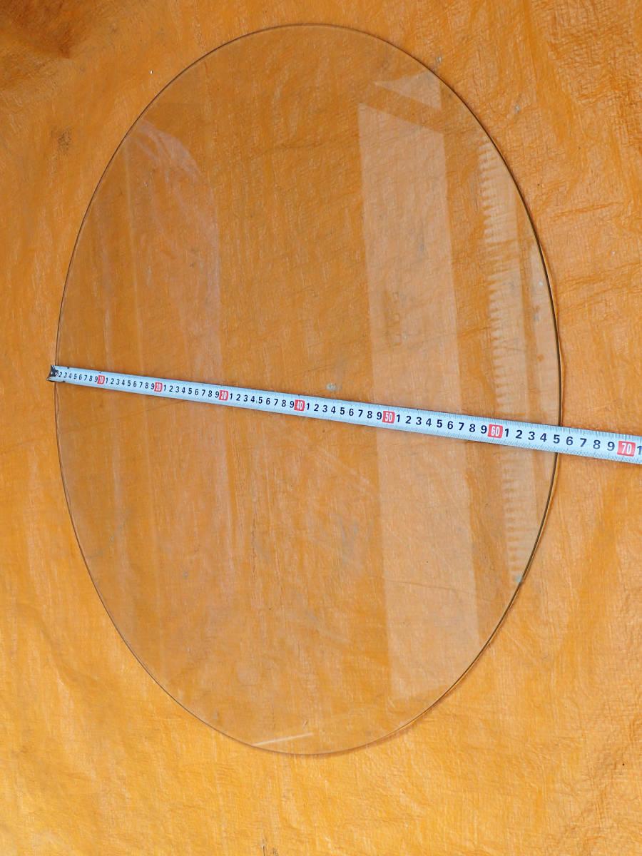 テーブル用 丸ガラス 円形ガラス 約65㎝ 約5㎜厚 クリア_画像2