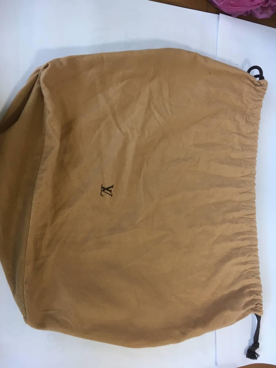 付属の布バッグ