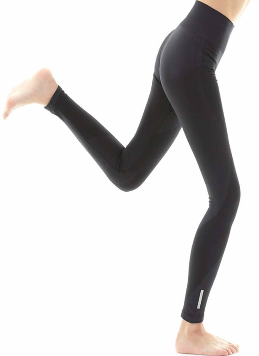 【新品】ShuShu cloth franc ヨガパンツ レディース レギンス 9分丈 速乾 スポーツ ヨガウェア (S/M, ブラック)_画像1