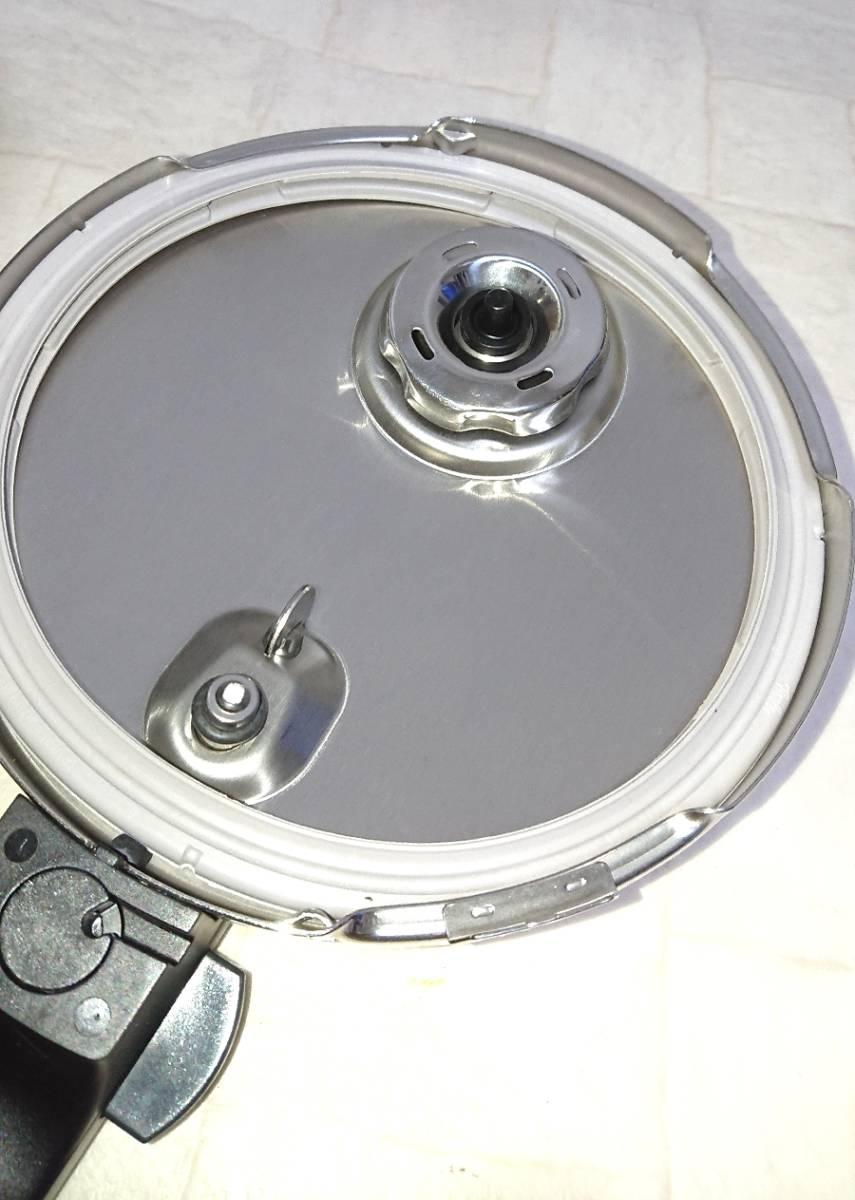 Fissler フィスラー 圧力鍋 29㎝ 未使用_画像6
