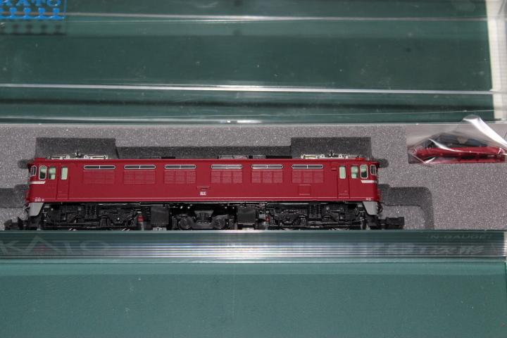 希少 KATO 3080-1 ED78 1次型 奥羽線・仙山線など あけぼの(20系・24系など)、急行津軽EF71と重連で