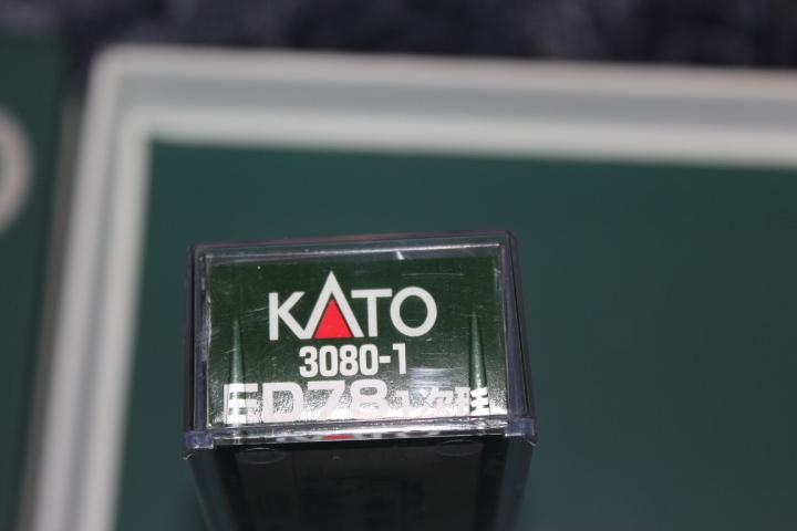 希少 KATO 3080-1 ED78 1次型 奥羽線・仙山線など あけぼの(20系・24系など)、急行津軽EF71と重連で_画像3
