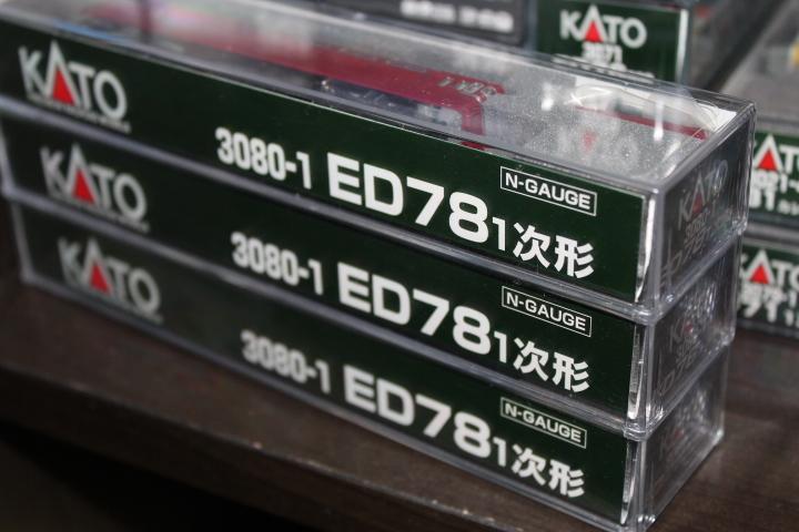希少 KATO 3080-1 ED78 1次型 奥羽線・仙山線など あけぼの(20系・24系など)、急行津軽EF71と重連で_画像4