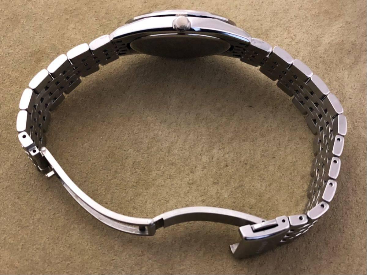 【最高級モデル】ザシチズン The CITIZEN A610-H14061 高精度 年差 クォーツ 腕時計 純正 ステンレス ブレス付き 日本製【電池交換済み】_画像4