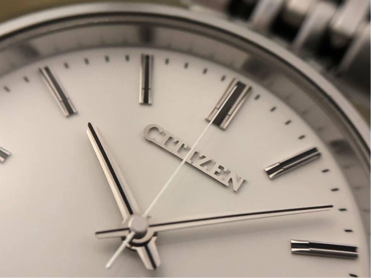 【最高級モデル】ザシチズン The CITIZEN A610-H14061 高精度 年差 クォーツ 腕時計 純正 ステンレス ブレス付き 日本製【電池交換済み】_画像6