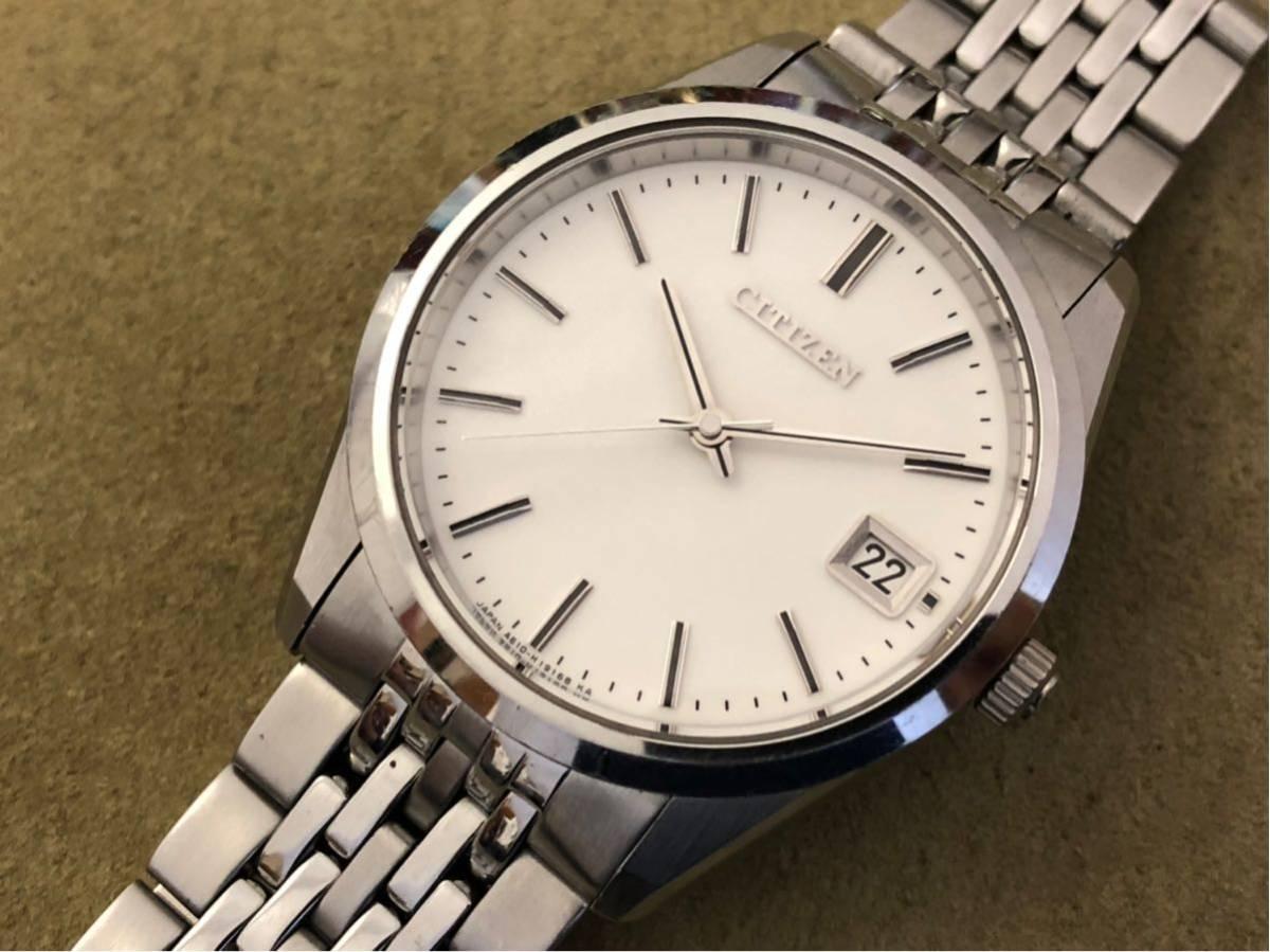 【最高級モデル】ザシチズン The CITIZEN A610-H14061 高精度 年差 クォーツ 腕時計 純正 ステンレス ブレス付き 日本製【電池交換済み】