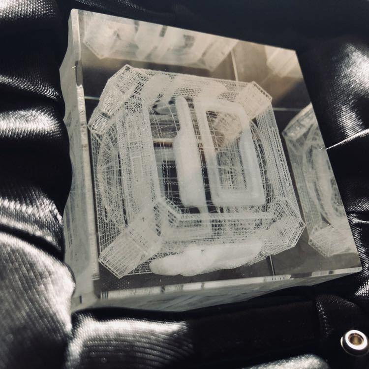 CAVE EVAC INDUSTRY Co.,Ltd 3D クリスタル 倍率『10』プレミアム版 ケツイ~絆地獄たち~ 未使用 ケイブ 3万円コース福袋品_画像4
