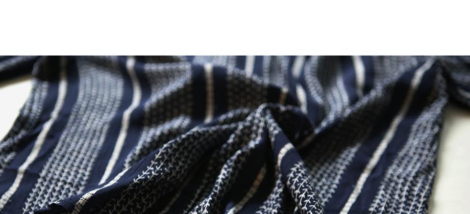 お洒落 トゥモローランド セレクトインポート リネンガーゼリーフシャツ 春新作 シャツ ブラウス Vネック とろみシャツ 麻 ガーゼ_画像7