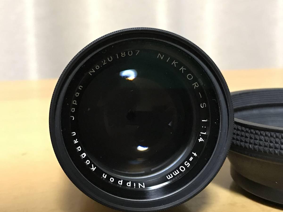 NIKKOR-S 1:1.4 f=50mm カメラレンズ Nikon ニコン_画像3