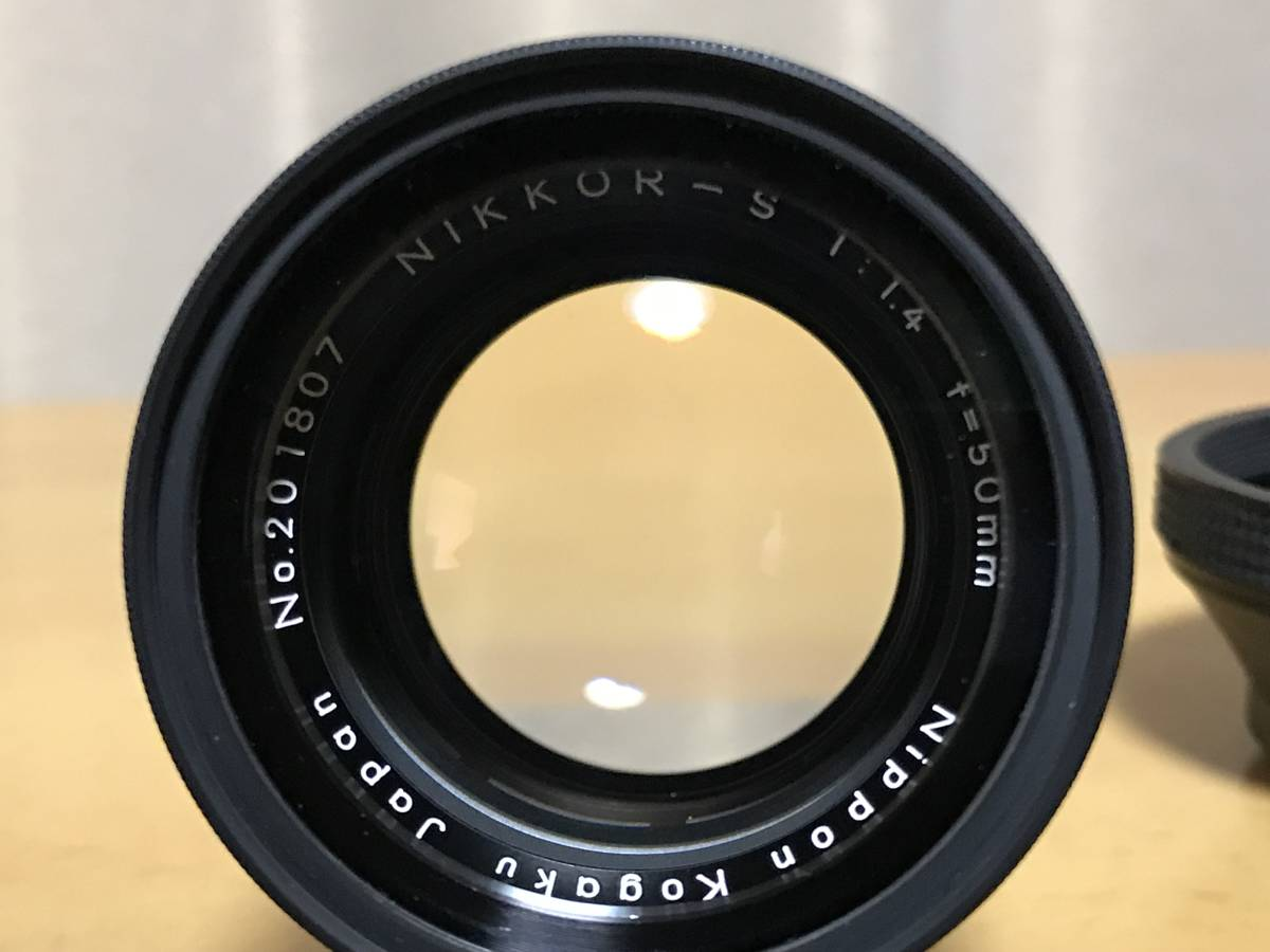 NIKKOR-S 1:1.4 f=50mm カメラレンズ Nikon ニコン_画像4