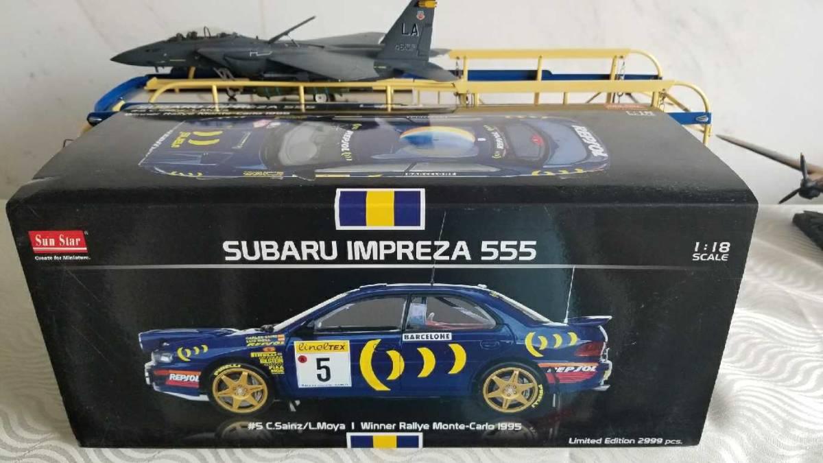 人気合金模型車ミニカーコレクションAUTOART 1:18スバルIMPREZA WRC 1997スケールシルバー新品_画像5