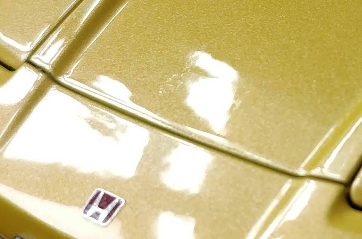 人気合金模型車ミニカーコレクションホンダ・NSX 1992 type r hoda1:18スケールシルバー新品_画像7