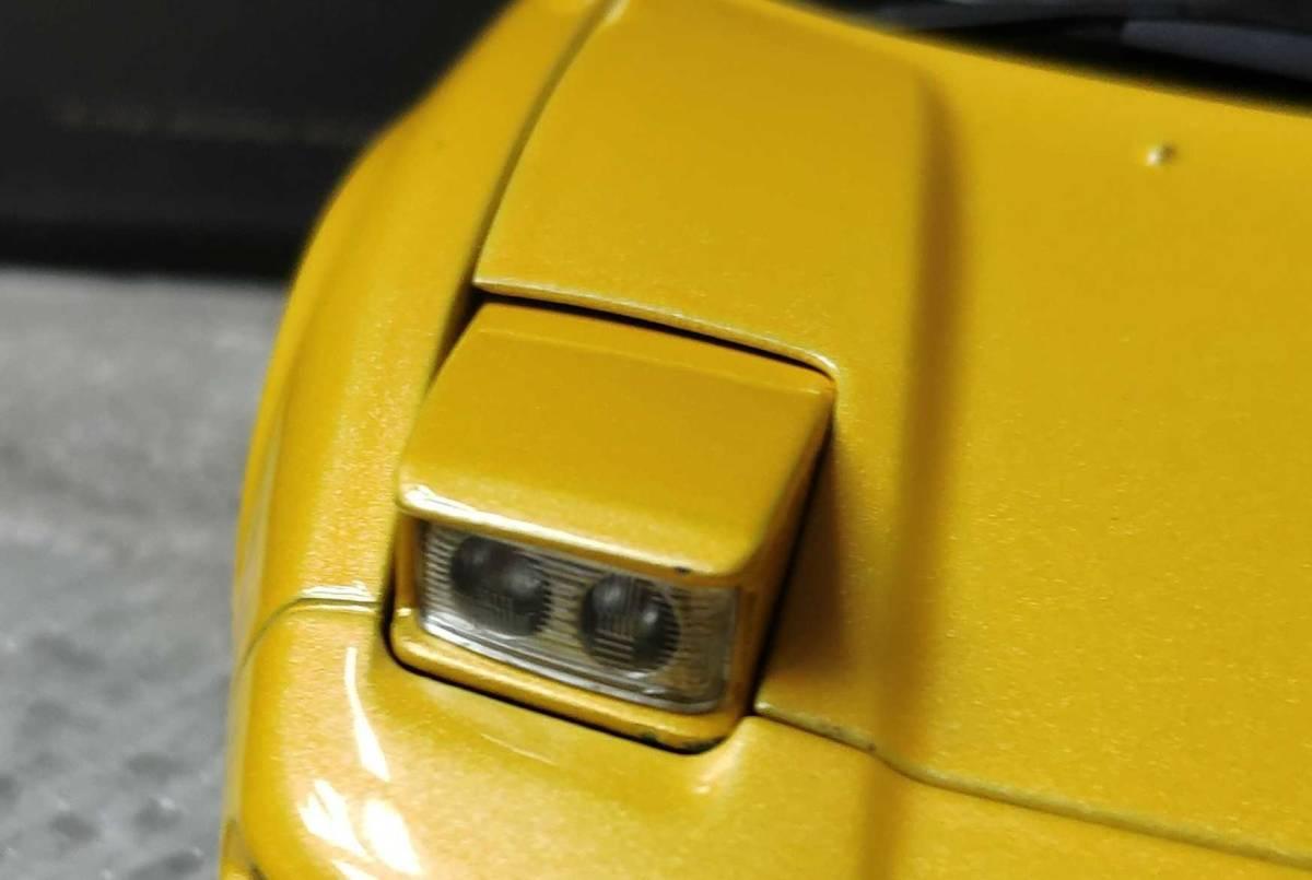 人気合金模型車ミニカーコレクションホンダ・NSX 1992 type r hoda1:18スケールシルバー新品_画像10